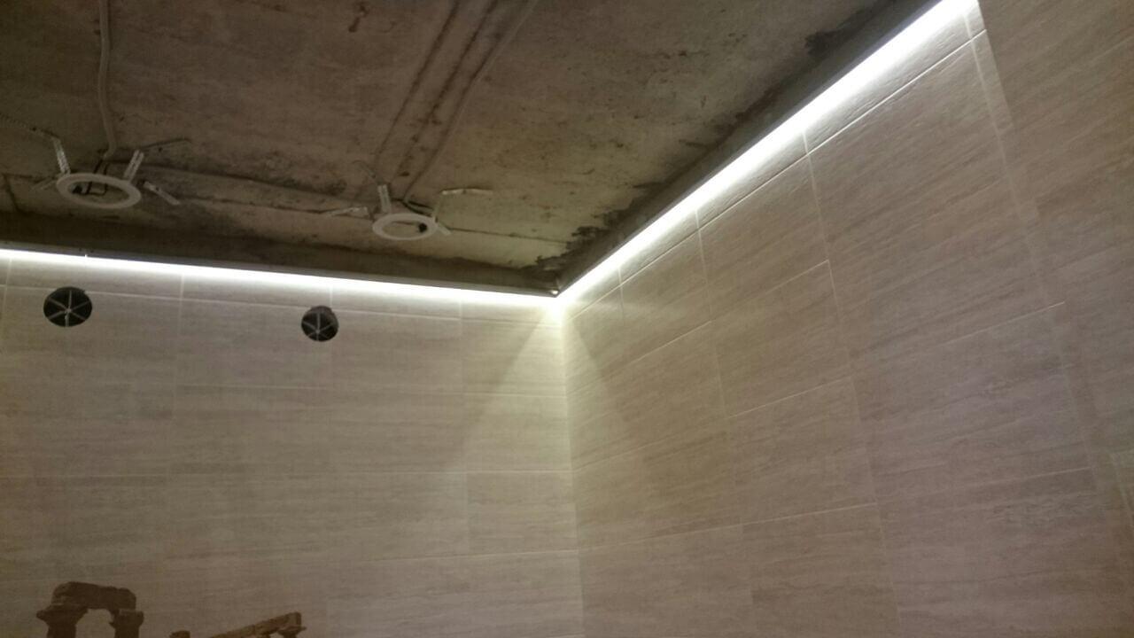 Преимущества парящего натяжного потолка