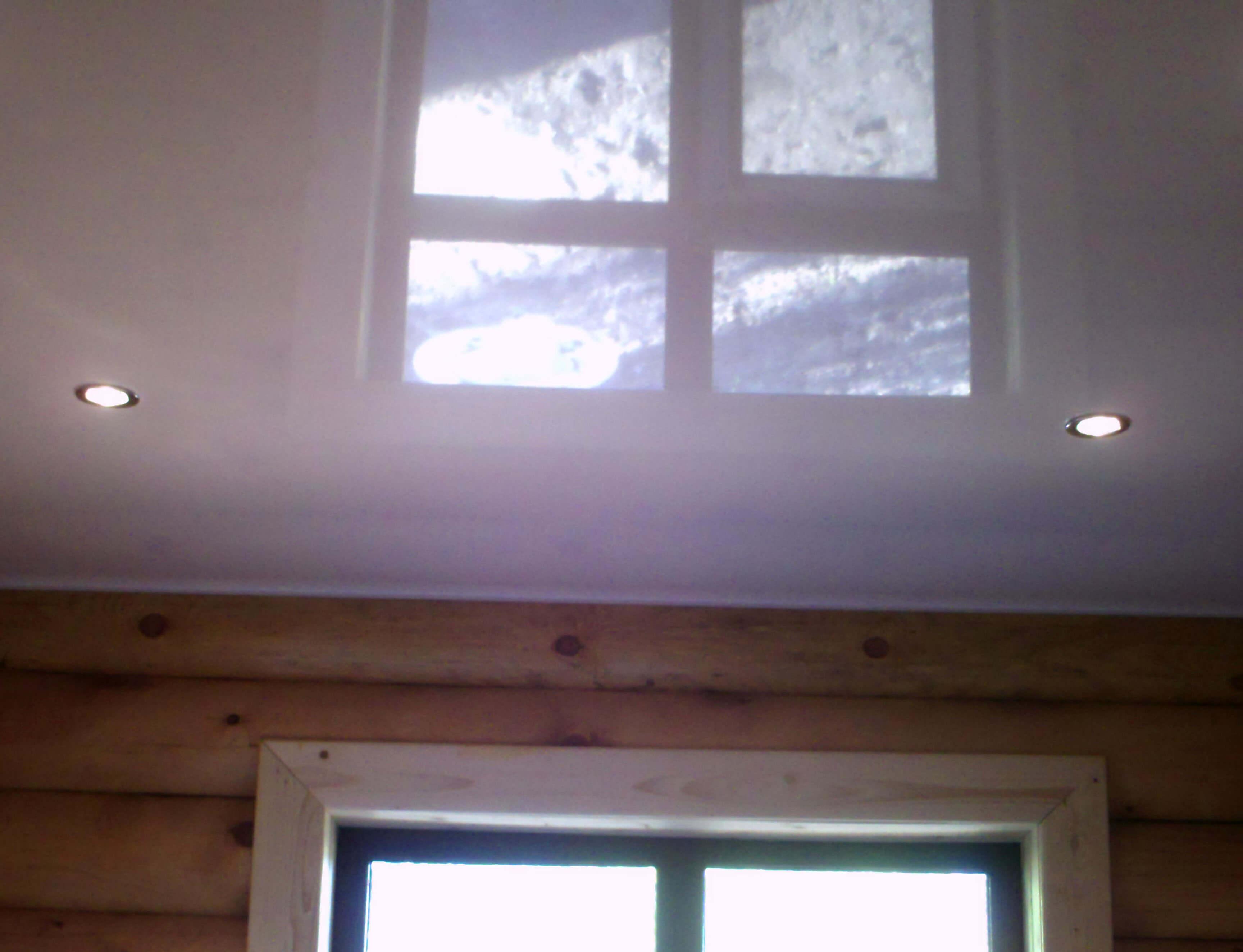 Натяжные потолки на даче