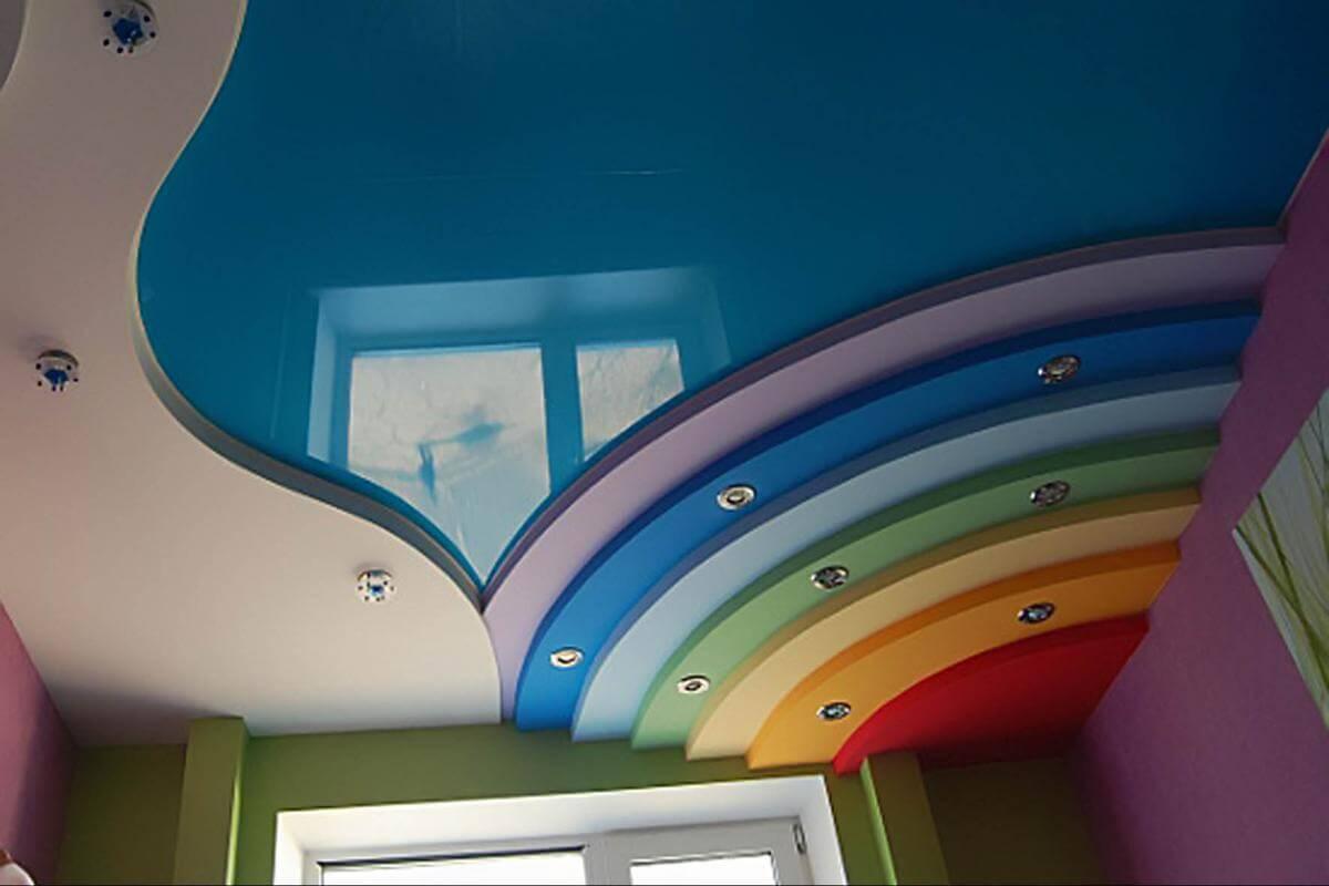 Гарпунний метод установки натяжної стелі