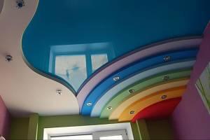 Гарпунный метод установки натяжного потолка